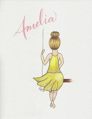 Painting - Amelia by Betsy Hackett