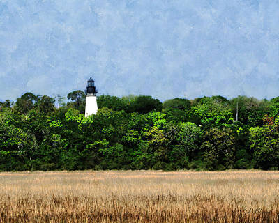 Amelia Island Photograph - Amelia Island Lighthouse by Rick Wilkerson