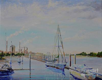 Painting - Amelia Island Port by AnnaJo Vahle