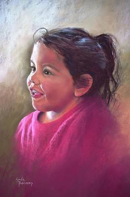 'amelia' Art Print
