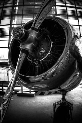 Lockheed Electra Photograph - Amelia's Engine by Daniel Hagerman