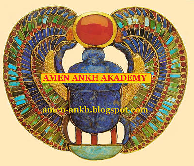 Digital Art - Amen Ankh Akademy by Adenike AmenRa