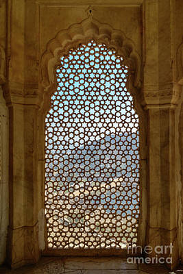 Photograph - Amer Fort 10 by Werner Padarin