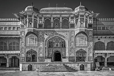Photograph - Amer Fort by Maria Coulson
