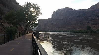 Photograph - America - Broadwalk On Colorado River by Jeffrey Shaw