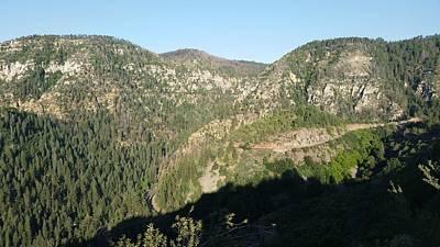Photograph - America - Dawn On Oak Creek Canyon by Jeffrey Shaw