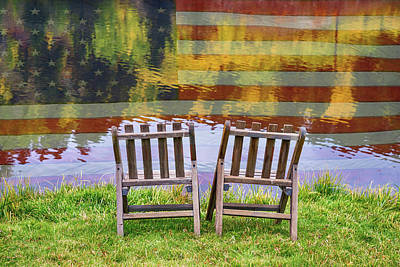 Photograph - America Day Dreaming For Two by James BO Insogna