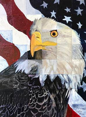 Painting - America by Dustin Miller