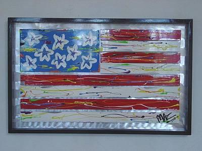 America Edition 1 Art Print by Mac Worthington