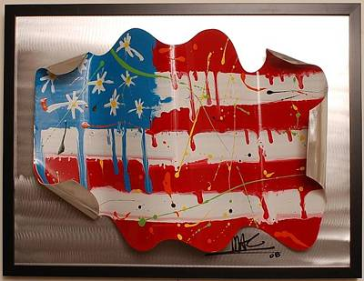 America Edition 2 Art Print by Mac Worthington