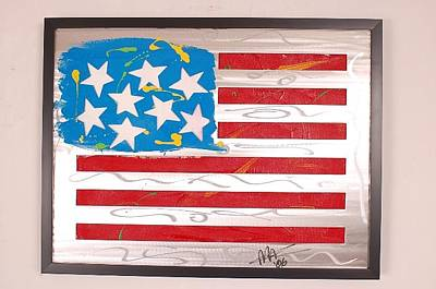 America Edition 3 Art Print by Mac Worthington