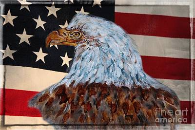 Painting - America by Ella Kaye Dickey