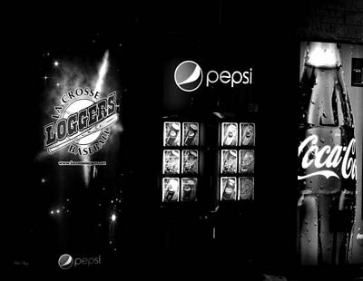 Pepsi Can Photograph - America January 14, 2016 7 Pm by Wild Thing