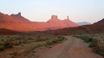 Photograph - America - Journey To Fisher Towers by Jeffrey Shaw