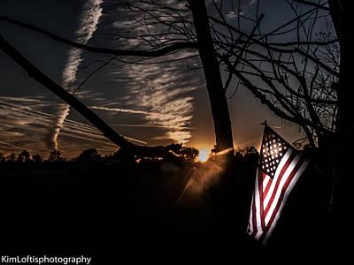 Photograph - America  by Kim Loftis