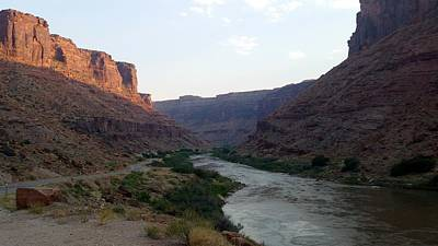 Photograph - America - Moab's Colorado River by Jeffrey Shaw