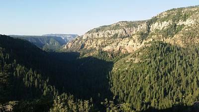 Photograph - America - Oak Creek Canyon At Dawn by Jeffrey Shaw