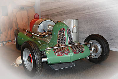 Photograph - America On Wheels Midget Racer by Mike Martin