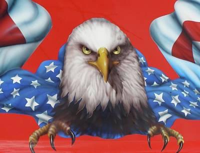 Painting - America Patriot  by Alan Johnson