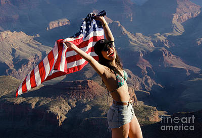 Photograph - America The Beautiful by Bob Christopher