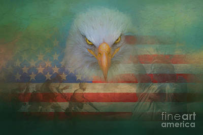 Painting - America The Great by Jim Hatch