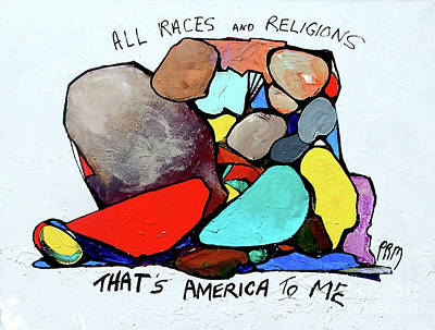 Painting - America To Me by Paul Miller