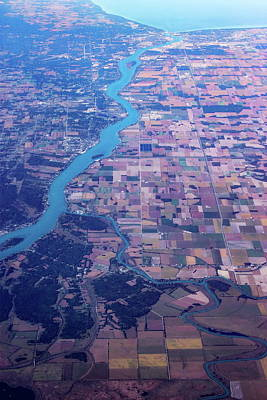 Terra Firma Photograph - American Agriculture by Molly NZ