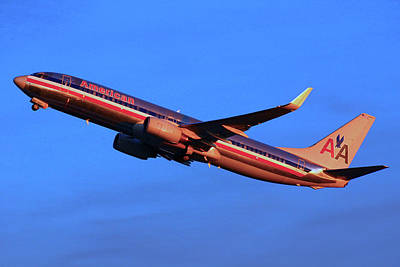 Photograph - American Airlines 737 by Joseph C Hinson Photography