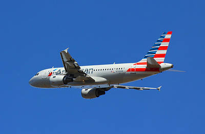 Photograph - American Airlines N748uw  by Joseph C Hinson Photography