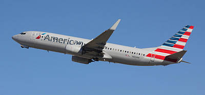 Photograph - American Airlines N894nn Panoramic by Joseph C Hinson Photography