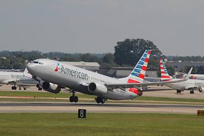 Photograph - American Airlines N989nn by Joseph C Hinson Photography