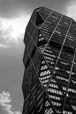 Abstract Shapes Photograph - American Architecture by Martin Newman