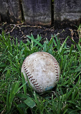 Photograph - American Baseball by Nathan Little