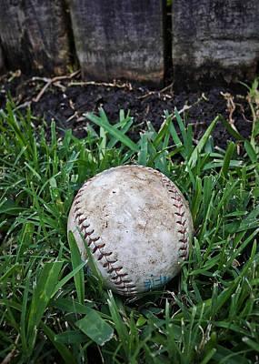 Photograph - American Baseball by Nathan Little