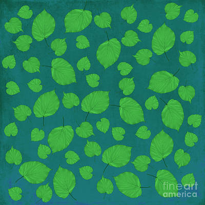 American Basswood In Green Art Print by Emily Kay