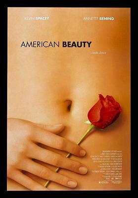 Scary Digital Art - American Beauty by Fine Artist