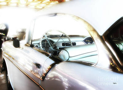 Automobiles Photograph - American Beauty  by Steven Digman
