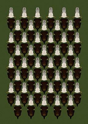 Bison Digital Art - American Bison by Trevor Moody