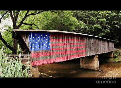 Photograph - American Bridge by Eric Liller