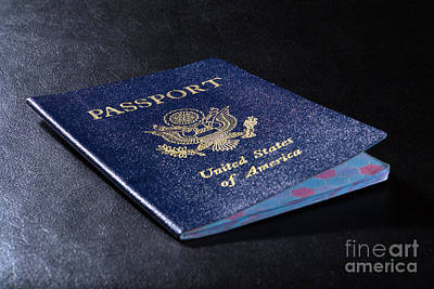Photograph - American Citizenship United States Passport by Olivier Le Queinec