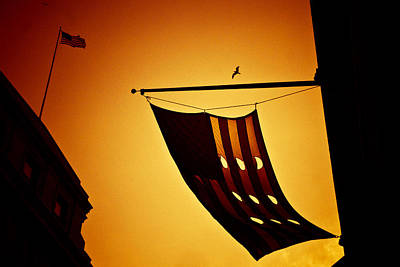 American City Sunset Art Print by Andrew Kubica