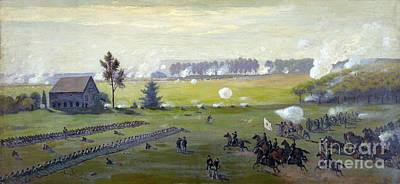 Army Of The Potomac Photograph - American Civil War, Battle by Science Source