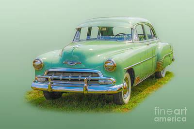 Blue Hues - American Classic Car by Randy Steele
