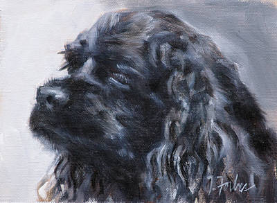 American Cocker Spaniel Art Print by Isabel Forbes