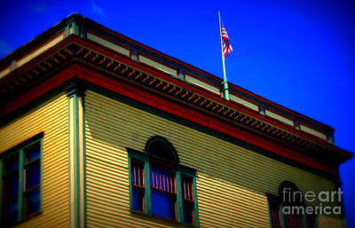 Shelburne Falls Photograph - American Color by Linda Galok