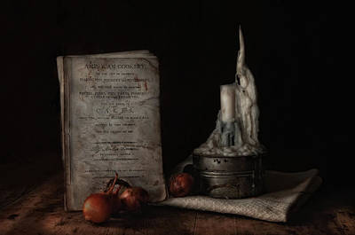 Cookbook Photograph - American Cookery by Robin-Lee Vieira