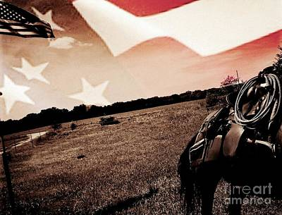 Photograph - American Cowboy by Michele Carter