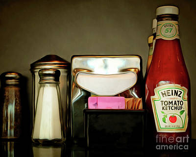 Photograph - American Diner Nostalgia 20170913 by Wingsdomain Art and Photography