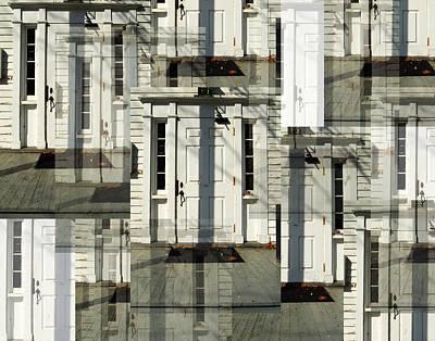 Opaque White Digital Art - American Dream by Bianca Socci