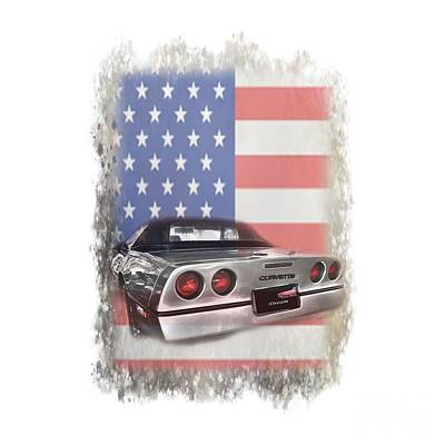 Photograph - American Dream Machine by Judy Hall-Folde